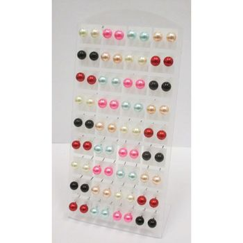 acrylic beads earrings
