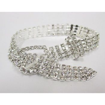 adjustable rhinestone strap