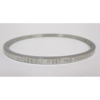 jewelry bracelet steel message