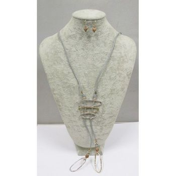 jewelry long necklace geometry
