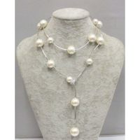 pearl necklace white
