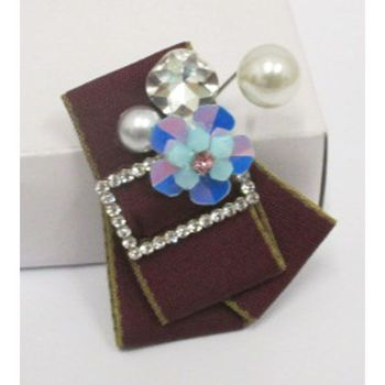 broche epingle perle