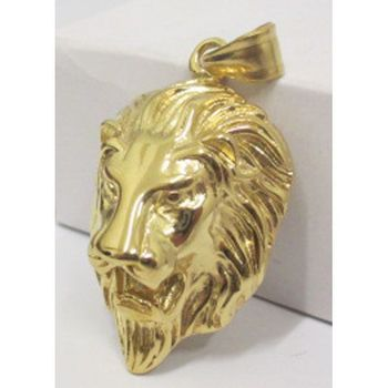 steel medallion golden lion