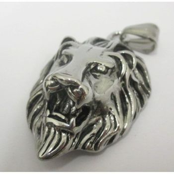 Medallion lion steel