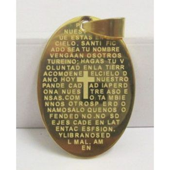 steel pendant prayer of the Lord