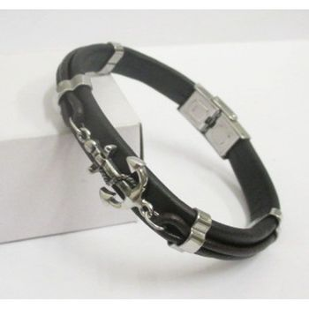 wholesaler in man leather bracelet