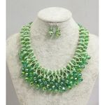 set jewelry green Brazil