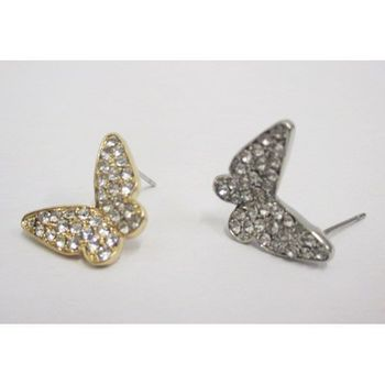 papillon boucles d'oreilles disponible grossiste