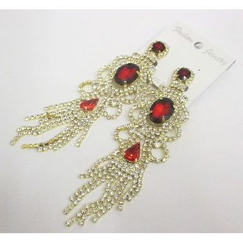 rhinestone pendants earrings