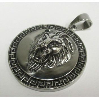 round lion head pendant