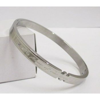 steel jewelry: women's bracelet