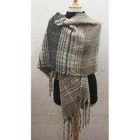 reversible scarf wool viscose