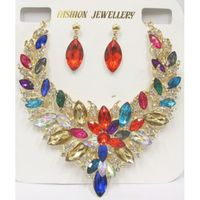 necklace colorful colors jewelry evening