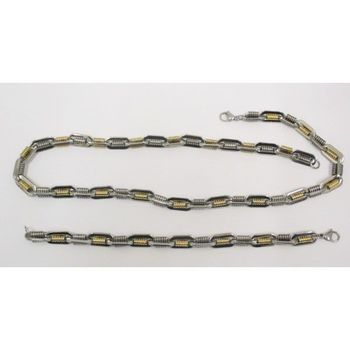 steel chain and bracelet at a professional price