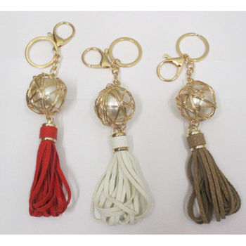 jewelry bag ball pearl with cord during