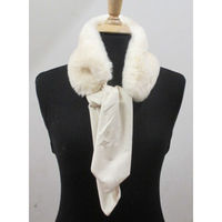 Fake fur scarf