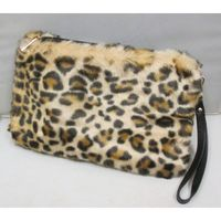 leopard clutch to put under the arm