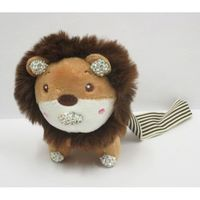 plush jewelry lion king of the jungle