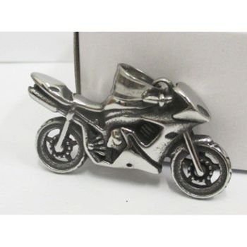 racing motorcycle pendant