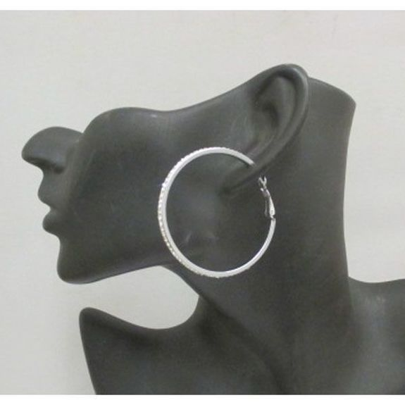 crystal steel hoops