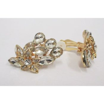fancy clip earring, sold individually