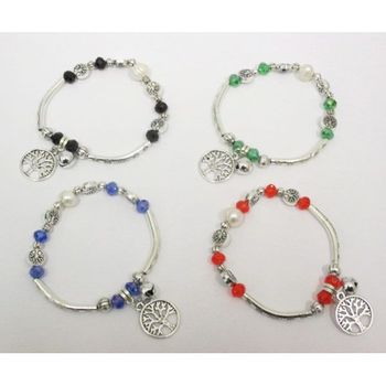 charm bracelet and tree of life