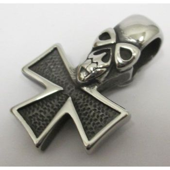 biker cross pendant from Malta