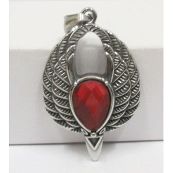 Egyptian queen pendant in stainless steel