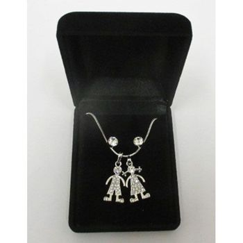 necklace fantasy pendant duo