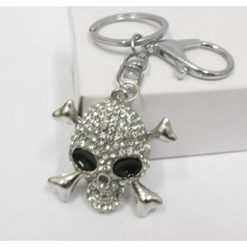 pirate keychain jewelry, death head
