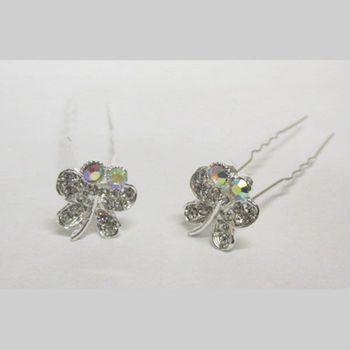 Crystal butterfly bunches