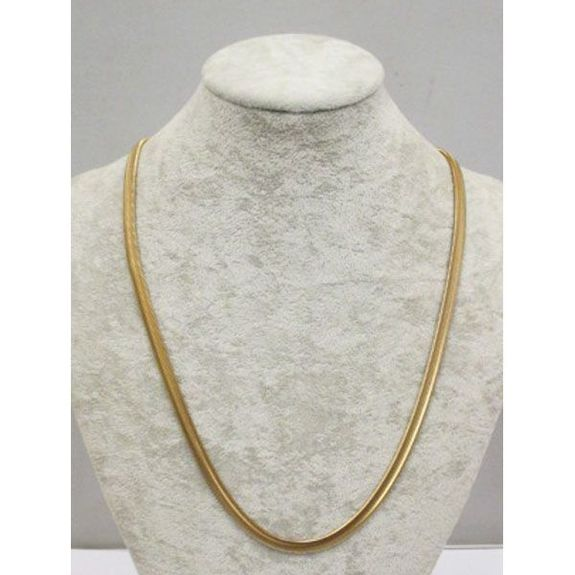 steel snake chain necklace