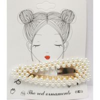 Pearl hair clip Jewelry Woman
