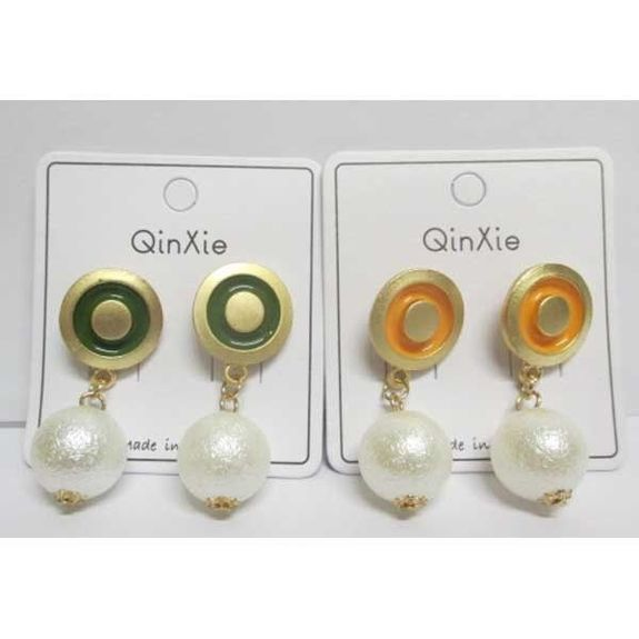 elegant pearl earrings email