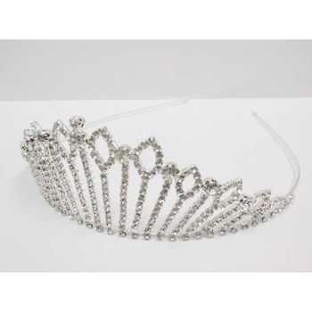 Tiara Crown of Queen in Rhinestones