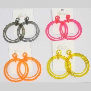 neon earrings wholesaler