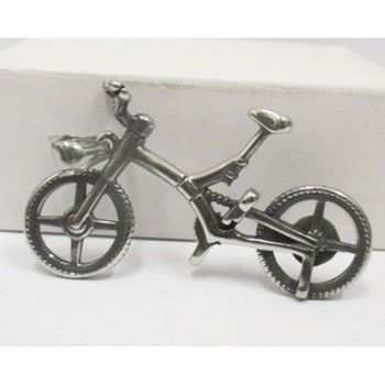 bike pendant jewelry