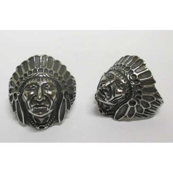 indian chief knight ring
