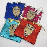 trousse sequins reversible