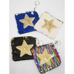 purse sequin seed star