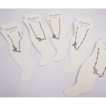 flamingo anklet chain