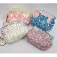 small transparent pouch