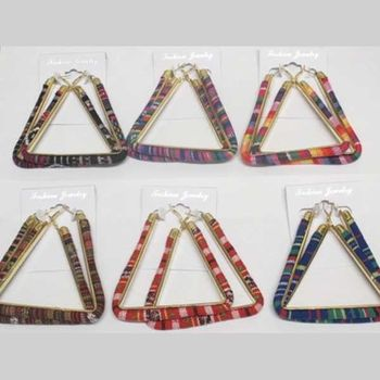 jewelry wax triangle earrings