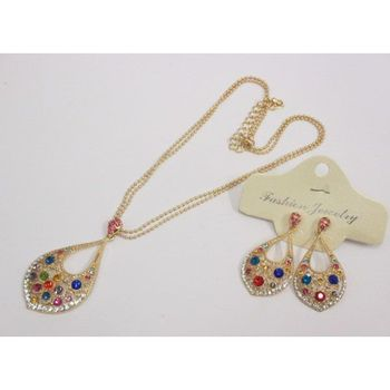 multicolored fancy oriental jewelry