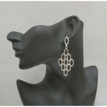 women's class rhinestone earrings