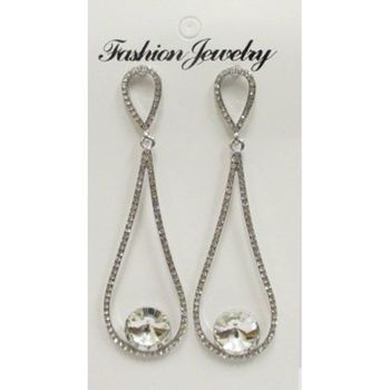 cheap fancy rhinestone earrings