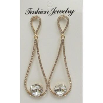 earrings rhinestone soft price