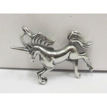 unicorn steel pendant