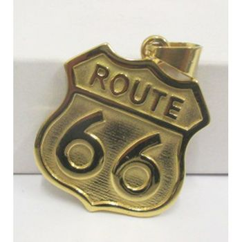 country pendentif route 66 bikers