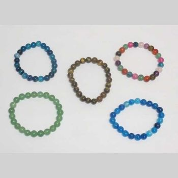 reconstituted natural stone bracelet pack